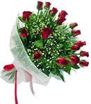 İstanbul Ümraniye internetten çiçek satışı  11 adet kirmizi gül buketi sade ve hos sevenler