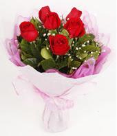 9 adet kaliteli görsel kirmizi gül  İstanbul Ümraniye çiçek gönderme
