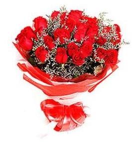 İstanbul Ümraniye çiçek mağazası , çiçekçi adresleri  12 adet kırmızı güllerden görsel buket