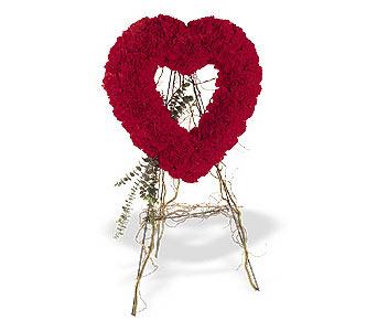 İstanbul Ümraniye internetten çiçek satışı  karanfillerden kalp pano