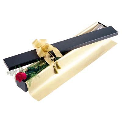 İstanbul Ümraniye uluslararası çiçek gönderme  tek kutu gül özel kutu