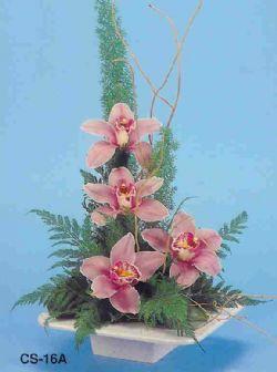 İstanbul Ümraniye çiçekçi telefonları  vazoda 4 adet orkide