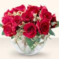 İstanbul Ümraniye çiçek online çiçek siparişi  mika yada cam içerisinde 10 gül - sevenler için ideal seçim -