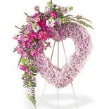 kalp içerisinde mevsim çiçekleri   İstanbul Ümraniye çiçek siparişi vermek