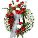 Cenaze çiçek siparisi son yolculuk  tabut üstü model