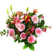 lilyum ve gerbera çiçekleri - çiçek seçimi -  İstanbul Ümraniye çiçek gönderme