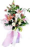 güller kazablanka oyuncak   İstanbul Ümraniye çiçek gönderme