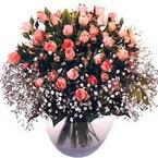 büyük cam fanusta güller   İstanbul Ümraniye çiçek yolla
