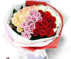 SEVENLERE ÖZEL 51 ADET GÜL  İstanbul Ümraniye internetten çiçek satışı