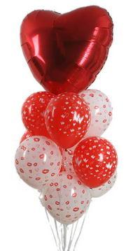 Sevdiklerinize 17 adet uçan balon demeti yollayin.   İstanbul Ümraniye çiçek siparişi sitesi