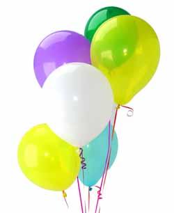 İstanbul Ümraniye İnternetten çiçek siparişi  Sevdiklerinize 17 adet uçan balon demeti yollayin.