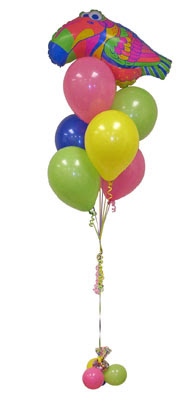 İstanbul Ümraniye çiçek yolla  Sevdiklerinize 17 adet uçan balon demeti yollayin.