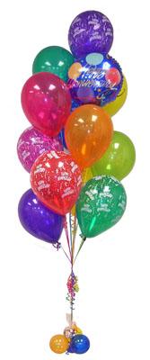 İstanbul Ümraniye çiçek satışı  Sevdiklerinize 17 adet uçan balon demeti yollayin.
