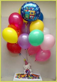 İstanbul Ümraniye çiçekçi mağazası  Sevdiklerinize 17 adet uçan balon demeti yollayin.