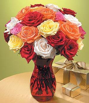 İstanbul Ümraniye anneler günü çiçek yolla  13 adet renkli gül