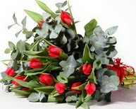İstanbul Ümraniye çiçek satışı  11 adet kirmizi gül buketi özel günler için