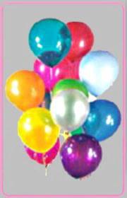 İstanbul Ümraniye online çiçek gönderme sipariş  15 adet karisik renkte balonlar uçan balon
