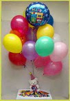 İstanbul Ümraniye anneler günü çiçek yolla  25 adet uçan balon ve 1 kutu çikolata hediye
