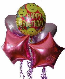 İstanbul Ümraniye kaliteli taze ve ucuz çiçekler  11 adet renkli uçan balon hediye ürünü