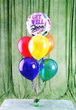 İstanbul Ümraniye çiçek yolla , çiçek gönder , çiçekçi   18 adet renkli uçan balon hediye ürünü balon