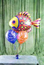 İstanbul Ümraniye online çiçek gönderme sipariş  9 adet uçan balon renkli oyuncak balonlar