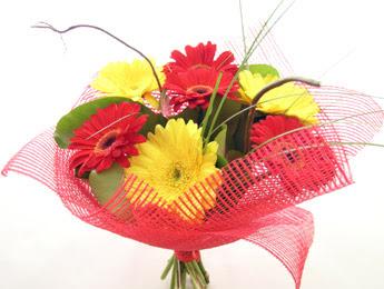 9 adet gerbera çiçeklerinden buket  İstanbul Ümraniye çiçek satışı