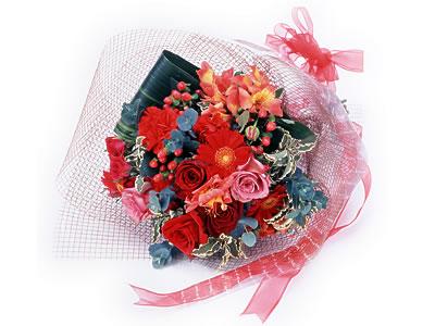 Karisik buket çiçek modeli sevilenlere  İstanbul Ümraniye uluslararası çiçek gönderme