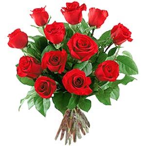 11 adet bakara kirmizi gül buketi  İstanbul Ümraniye güvenli kaliteli hızlı çiçek