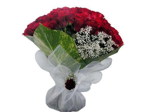 25 adet kirmizi gül görsel çiçek modeli  İstanbul Ümraniye çiçek servisi , çiçekçi adresleri