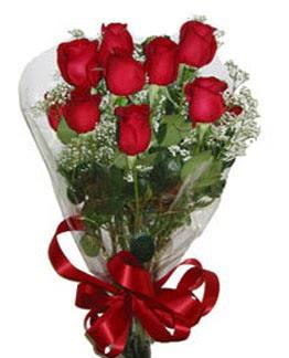 Çiçek sade gül buketi 7 güllü buket  İstanbul Ümraniye online çiçek gönderme sipariş