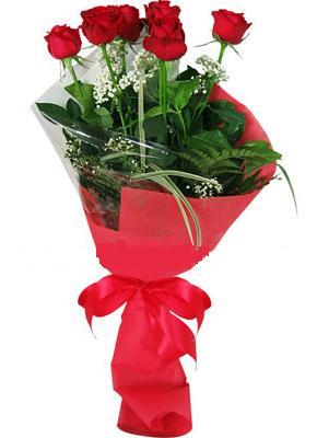 7 adet kirmizi gül buketi  İstanbul Ümraniye çiçek yolla , çiçek gönder , çiçekçi