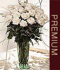 İstanbul Ümraniye kaliteli taze ve ucuz çiçekler  Beyaz güllerden vazo tanzim