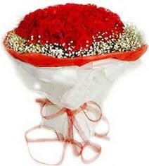 İstanbul Ümraniye çiçekçiler  41 adet kirmizi gül buketi