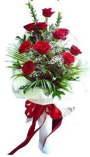 İstanbul Ümraniye ucuz çiçek gönder  10 adet kirmizi gül buketi demeti