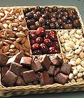 İstanbul Ümraniye güvenli kaliteli hızlı çiçek Kuru yemis ve çikolata hediyesi