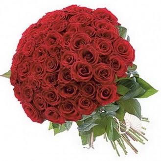 İstanbul Ümraniye güvenli kaliteli hızlı çiçek  101 adet kırmızı gül buketi modeli