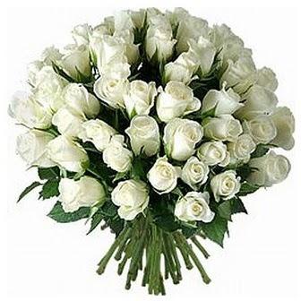 İstanbul Ümraniye çiçek servisi , çiçekçi adresleri  33 adet beyaz gül buketi