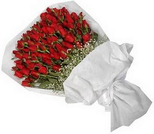 İstanbul Ümraniye İnternetten çiçek siparişi  51 adet kırmızı gül buket çiçeği