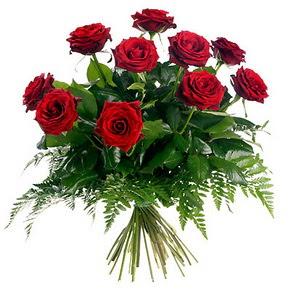 İstanbul Ümraniye çiçek gönderme  10 adet kırmızı gülden buket