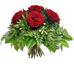 İstanbul Ümraniye çiçek mağazası , çiçekçi adresleri  5 adet kırmızı gülden buket