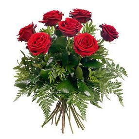 İstanbul Ümraniye online çiçek gönderme sipariş  7 adet kırmızı gülden buket