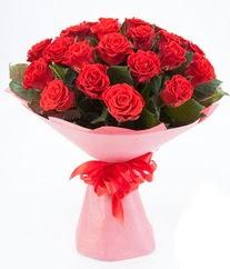 15 adet kırmızı gülden buket tanzimi  İstanbul Ümraniye çiçek siparişi sitesi