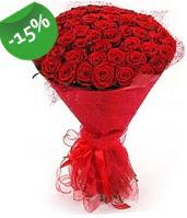 51 adet kırmızı gül buketi özel hissedenlere  İstanbul Ümraniye çiçek siparişi sitesi