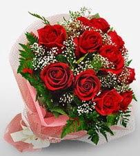 12 adet kırmızı güllerden kaliteli gül  İstanbul Ümraniye çiçek siparişi vermek