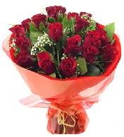 12 adet görsel bir buket tanzimi  İstanbul Ümraniye çiçek siparişi vermek
