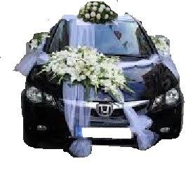 İstanbul Ümraniye ucuz çiçek gönder  Çift çiçekli sünnet düğün ve gelin arabası süsleme