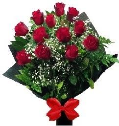 11 adet kırmızı gülden buket  İstanbul Ümraniye çiçekçi telefonları
