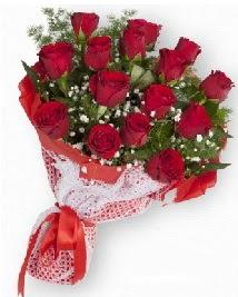11 kırmızı gülden buket  İstanbul Ümraniye güvenli kaliteli hızlı çiçek