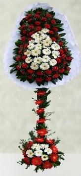 İstanbul Ümraniye internetten çiçek satışı  çift katlı düğün açılış çiçeği