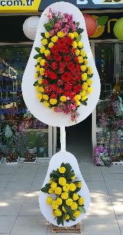 Düğün nikah açılış Çiçeği Çift katlı sepet  İstanbul Ümraniye internetten çiçek satışı